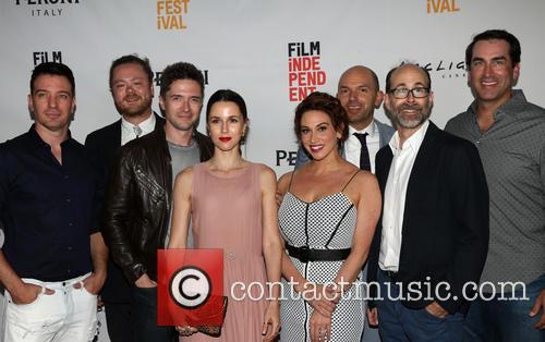 J.c. Chasez, Andrew Leland Rogers, Topher Grace, Jessica Richards, Lesli Margherita, Paul Scheer and Rob Riggle 4