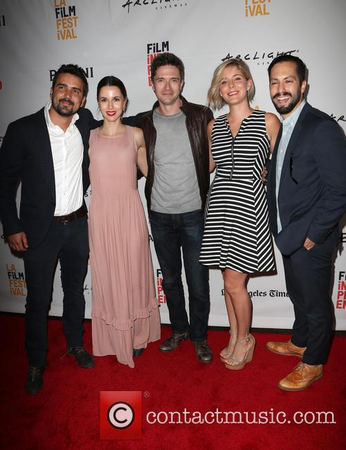 Daniel Posada, Topher Grace, Samantha Castellano, Jason Tamasco and Jessica Richards 7