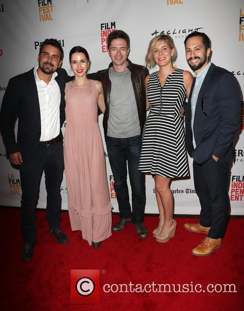 Daniel Posada, Topher Grace, Samantha Castellano, Jason Tamasco and Jessica Richards 8