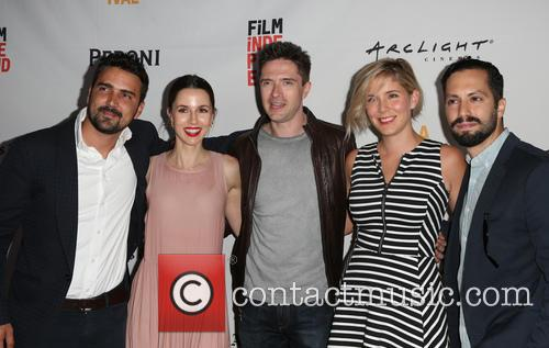 Daniel Posada, Topher Grace, Samantha Castellano, Jason Tamasco and Jessica Richards 9