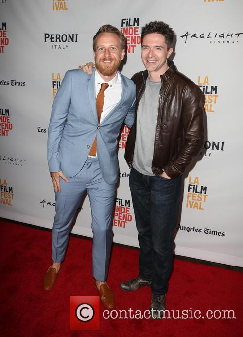 Isaac Rentz and Topher Grace 8