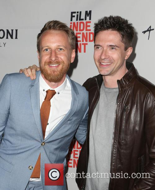 Isaac Rentz and Topher Grace 9