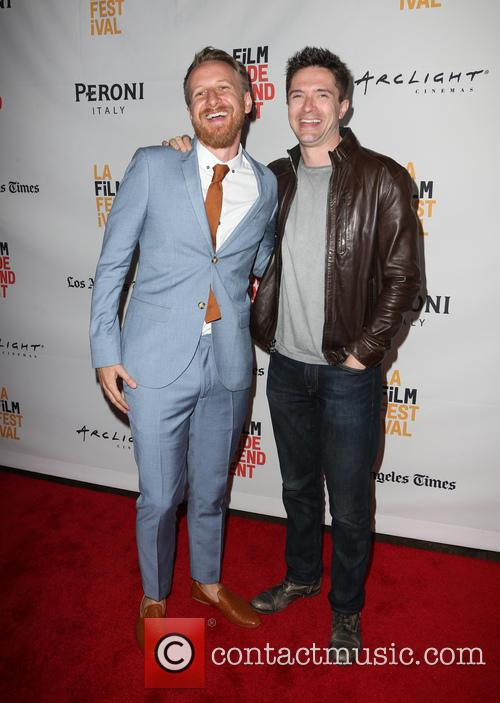 Isaac Rentz and Topher Grace 10