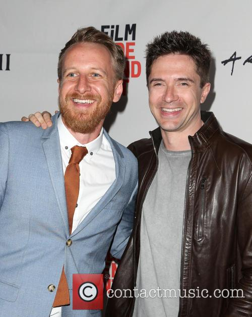 Isaac Rentz and Topher Grace 11