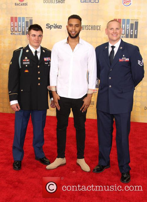 Alek Skarlatos, Spencer Stone and Anthony Sadler 2