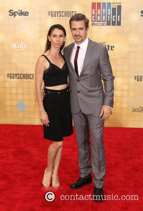 Tharita Cutulle and Dermot Mulroney 1