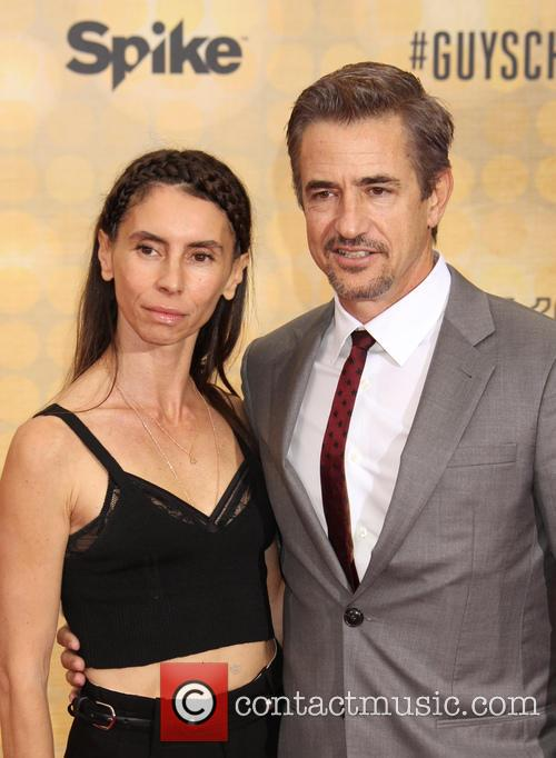 Tharita Cutulle and Dermot Mulroney 3