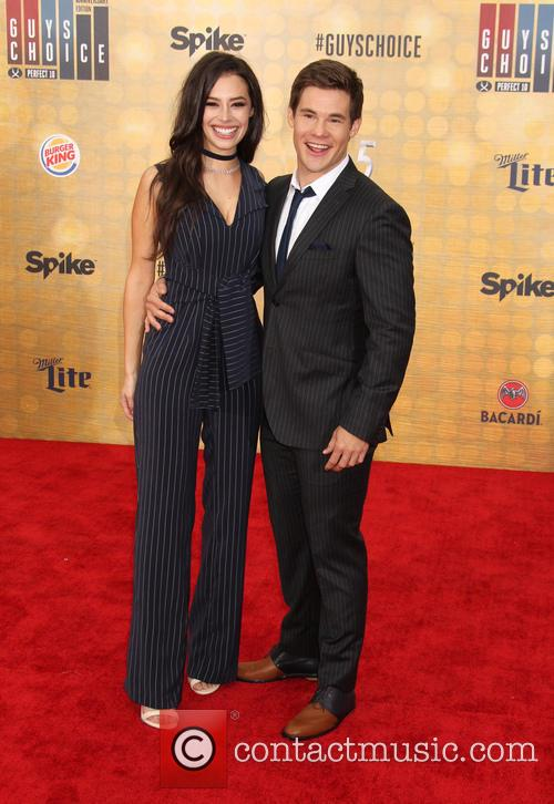 Chloe Bridges and Adam Devine 1