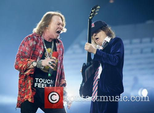 Axl Rose and Angus Young 3