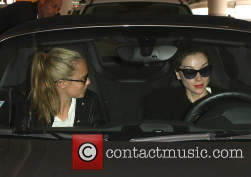 Cara Delevingne, St. Vincent and Anne Clark 8