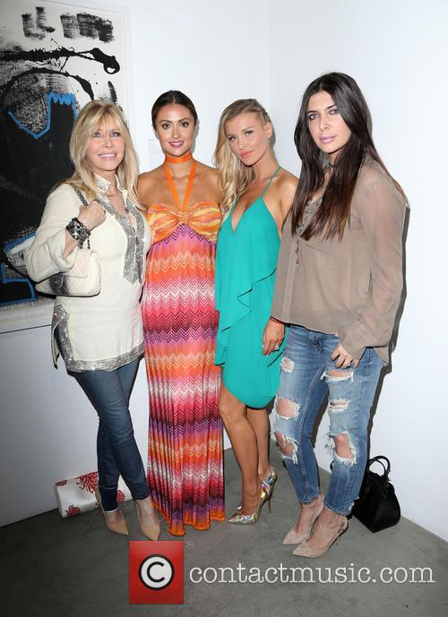 Lisa Gastineau, Katie Cleary, Joanna Krupa and Brittny Gastineau 2