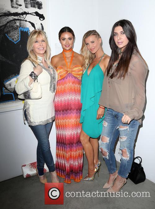 Lisa Gastineau, Katie Cleary, Joanna Krupa and Brittny Gastineau