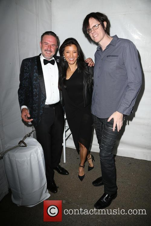 David Arquette and Kelly Hu 3