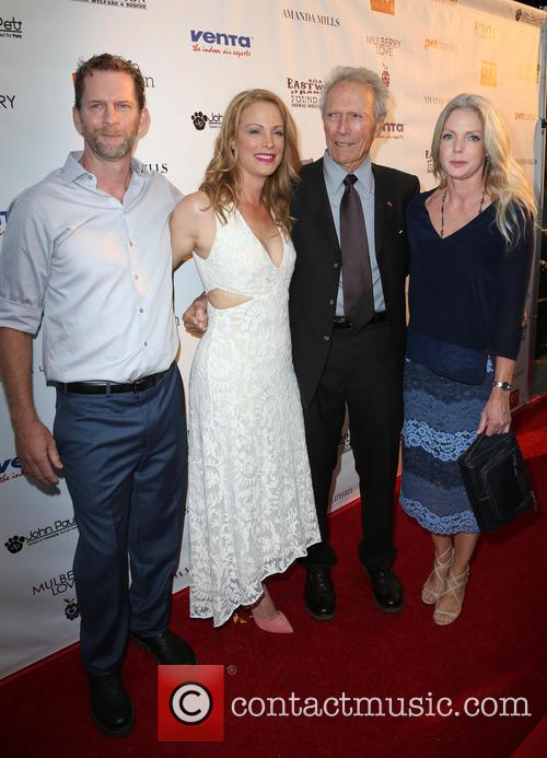 Stacy Poitras, Alison Eastwood, Clint Eastwood and Christina Sandera 1