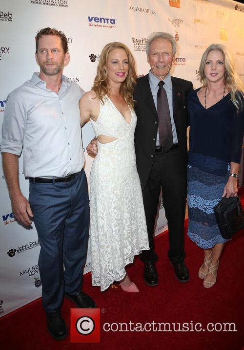 Stacy Poitras, Alison Eastwood, Clint Eastwood and Christina Sandera 2
