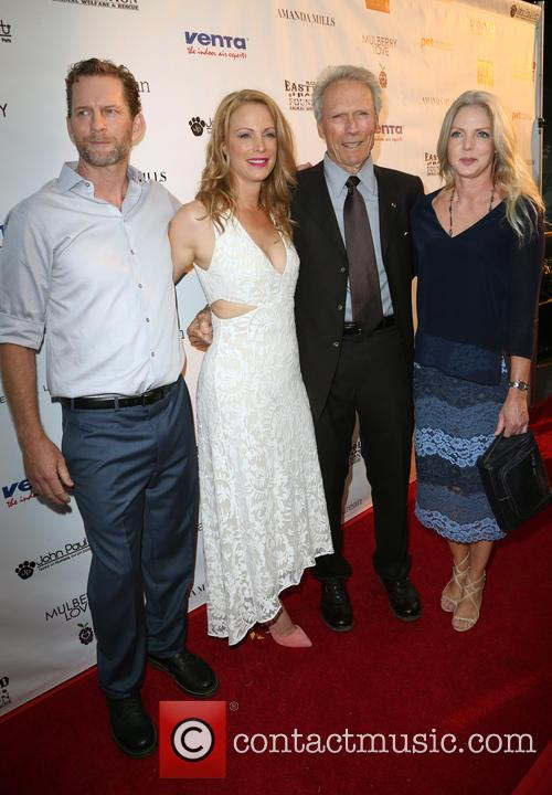 Stacy Poitras, Alison Eastwood, Clint Eastwood and Christina Sandera 3