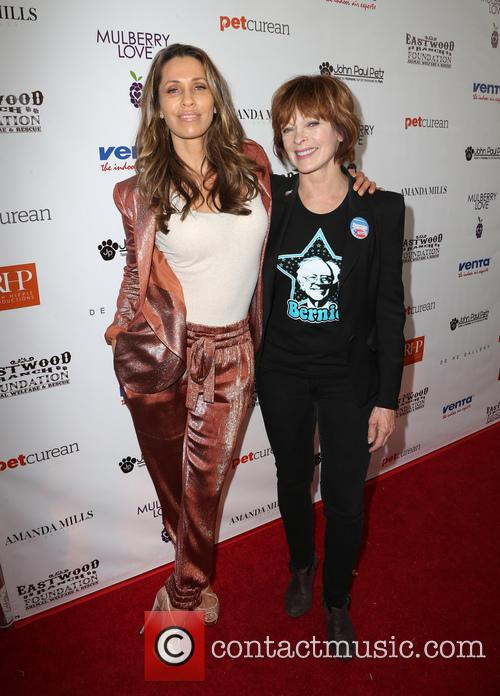 Raimbow and Frances Fisher 2