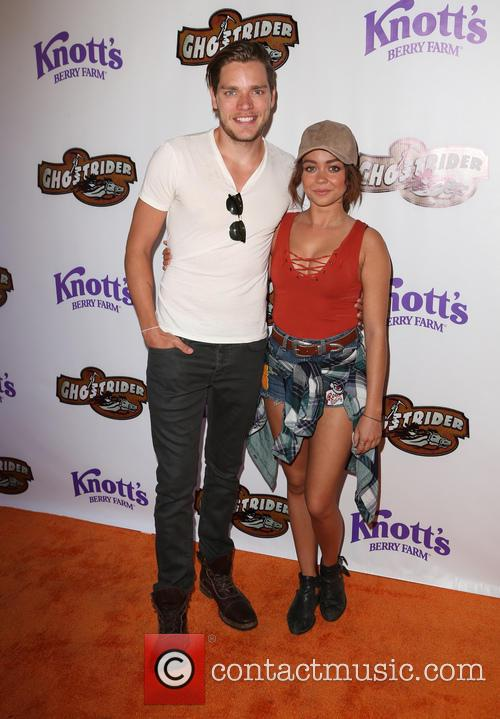 Dominic Sherwood and Sarah Hyland 8