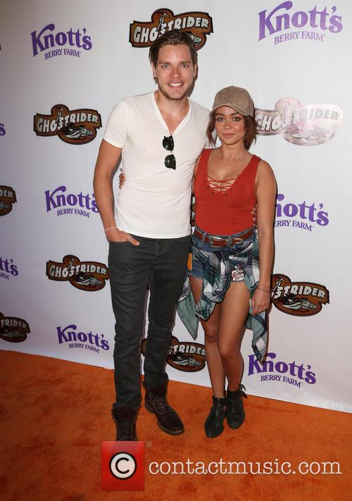 Dominic Sherwood and Sarah Hyland 9