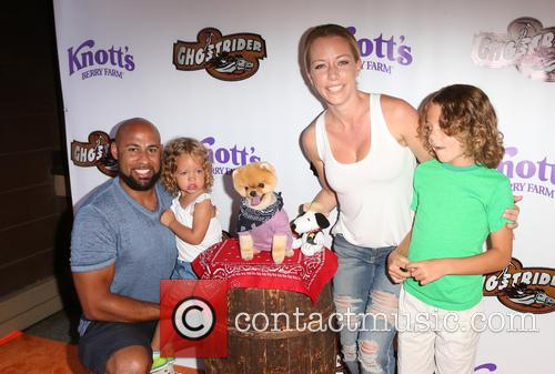 Hank Baskett, Kendra Wilkinson and Alijah Mary Baskett 8