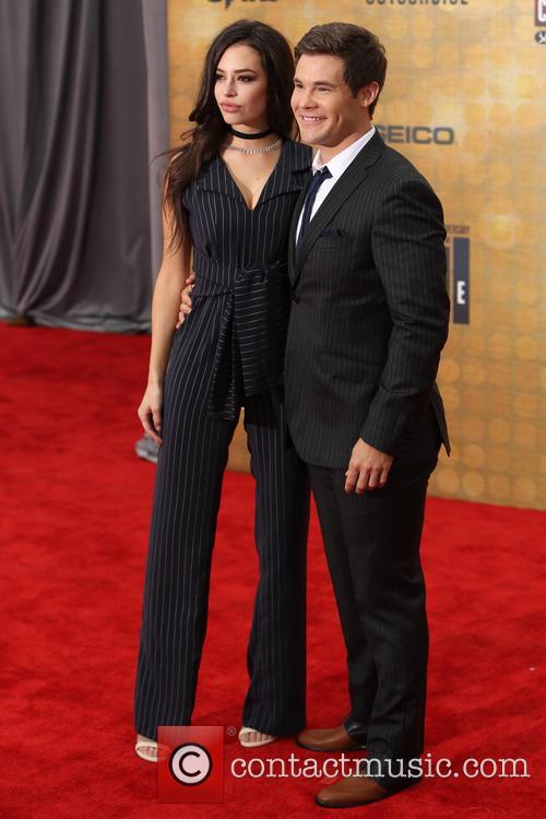 Chloe Bridges and Adam Devine 4