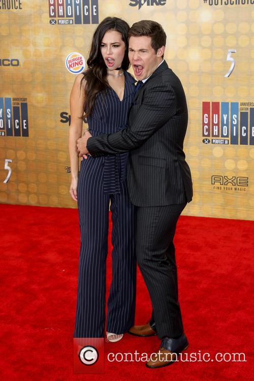 Chloe Bridges and Adam Devine 7