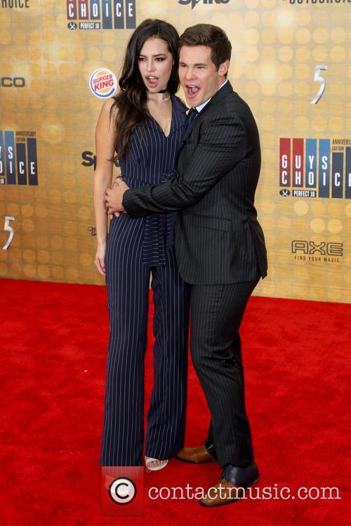 Chloe Bridges and Adam Devine 8