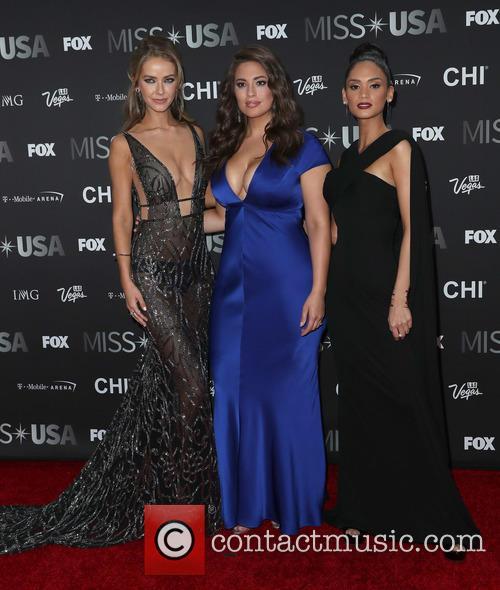 Olivia Jordan, Ashley Graham and Miss Universe 2015 Pia Wurtzbach 2