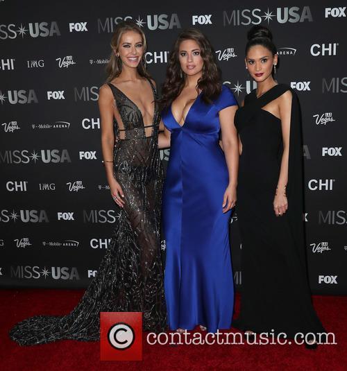 Olivia Jordan, Ashley Graham and Miss Universe 2015 Pia Wurtzbach