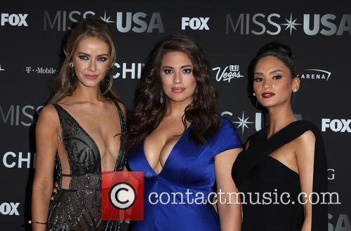 Olivia Jordan, Ashley Graham and Miss Universe 2015 Pia Wurtzbach 4