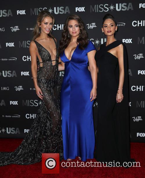 Olivia Jordan, Ashley Graham and Miss Universe 2015 Pia Wurtzbach 5