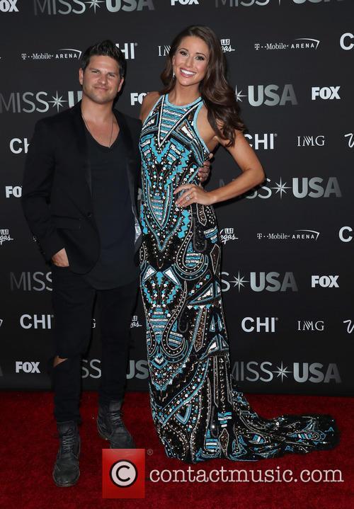 Daniel Booko and Miss Usa 2014 Nia Sanchez 2