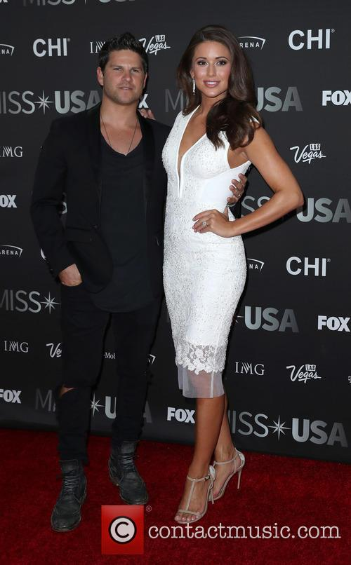 Daniel Booko and Miss Usa 2014 Nia Sanchez