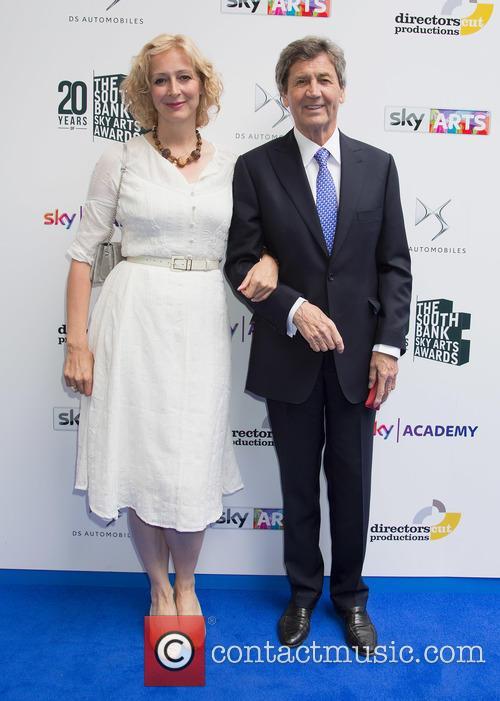 Melvyn Bragg and Marie Elsa Bragg 1