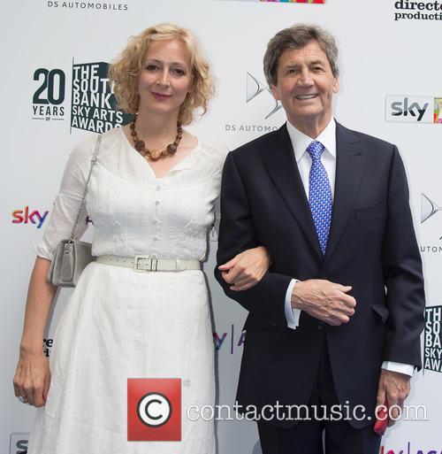 Melvyn Bragg and Marie Elsa Bragg 2