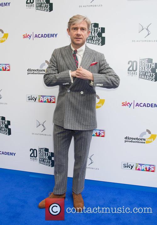Martin Freeman At The South Bank Sky Arts Award