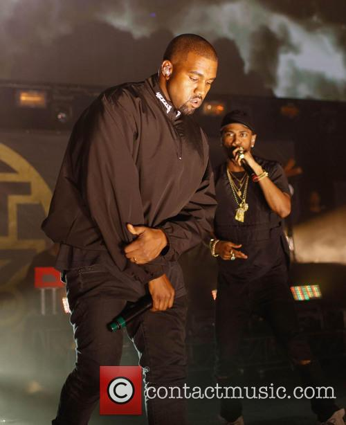 Kanye West at Hot 97 Summer Jam concert