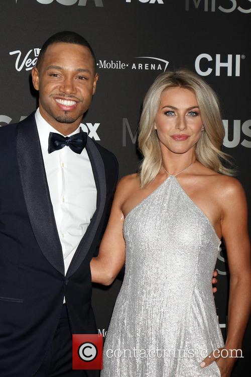 Terrence J and Julianne Hough 11