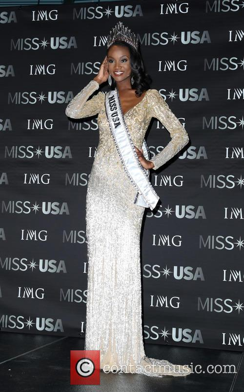 Miss Usa, Deshauna Barber and Miss District Of Columbia 8