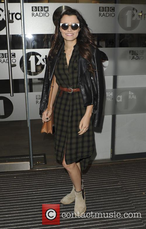 Samantha Barks At BBC Radio 1