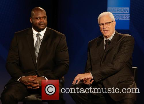 Shaquille O'neal and Phil Jackson 3