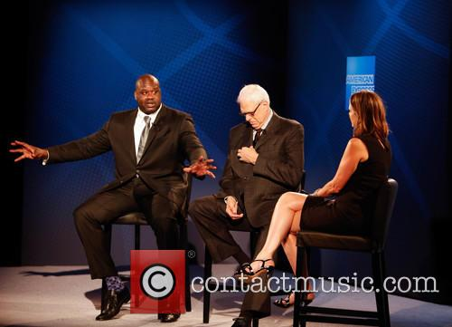 Shaquille O'neal, Phil Jackson and Hannah Storm 6
