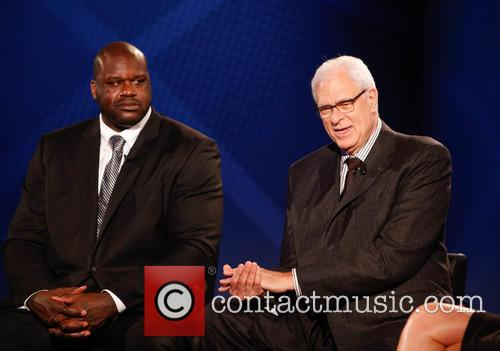 Shaquille O'neal and Phil Jackson 7