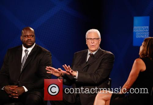 Shaquille O'neal, Phil Jackson and Hannah Storm 8