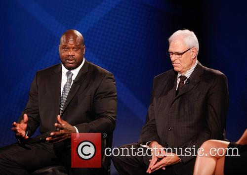 Shaquille O'neal and Phil Jackson 10