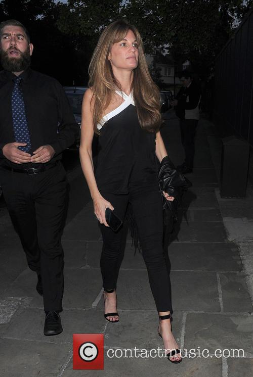 Celebrities attend Jimmy Carr's party