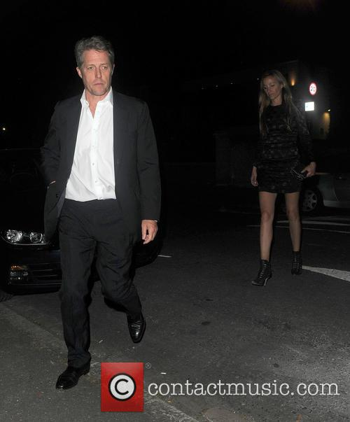 Hugh Grant and Anna Elisabet Eberstein 1