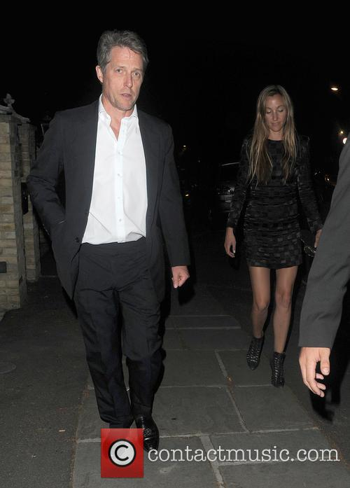 Hugh Grant and Anna Elisabet Eberstein 3