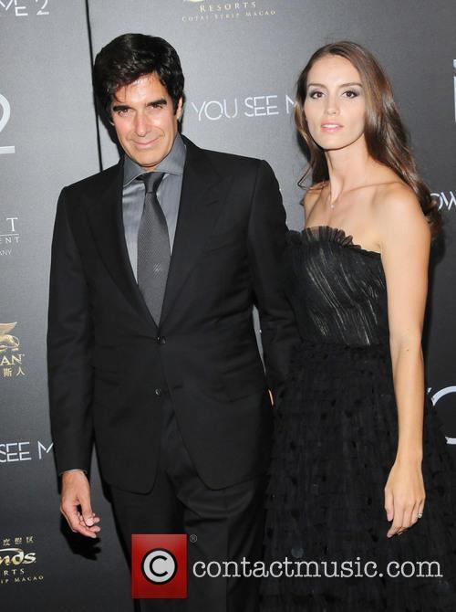 David Copperfield and Chloe Gosselin 2