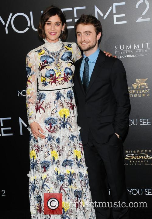 Lizzie Caplan and Daniel Radcliffe 3